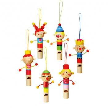 Dřevěné píšťalky