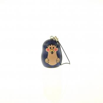 Klíčenka-ježek mini modrý