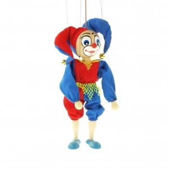 Loutka klaun rolničky