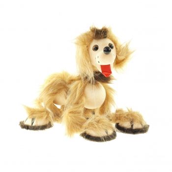 Loutka pes - světlý