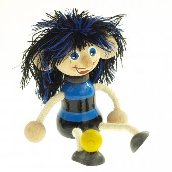 Panáček - fotbalista modrý