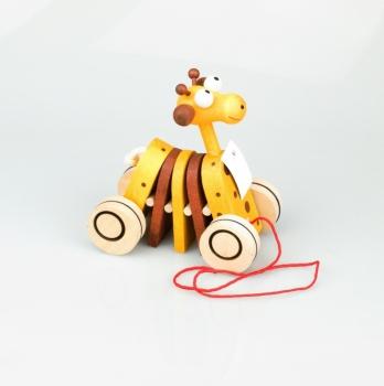 Tahací žirafka klapací