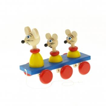 Tři myši na liště